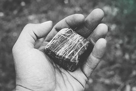 Black Chakra Stone